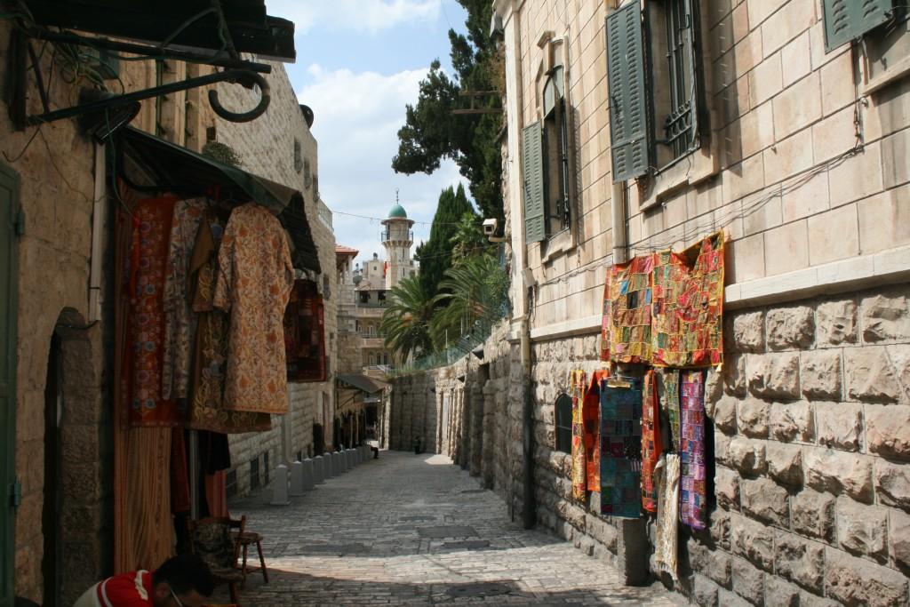 Altstadtgasse in Jerusalem