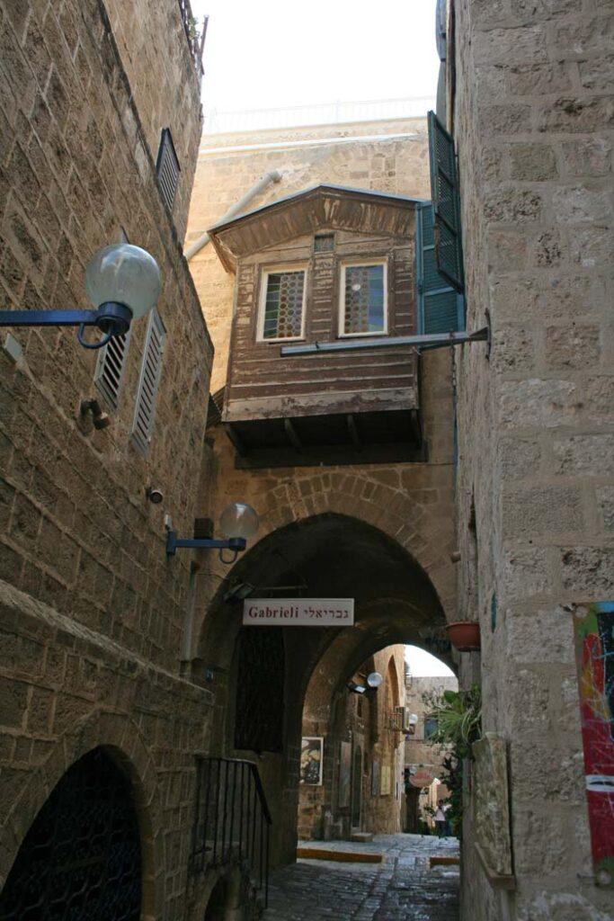 Gasse in der Altstadt von Jaffa