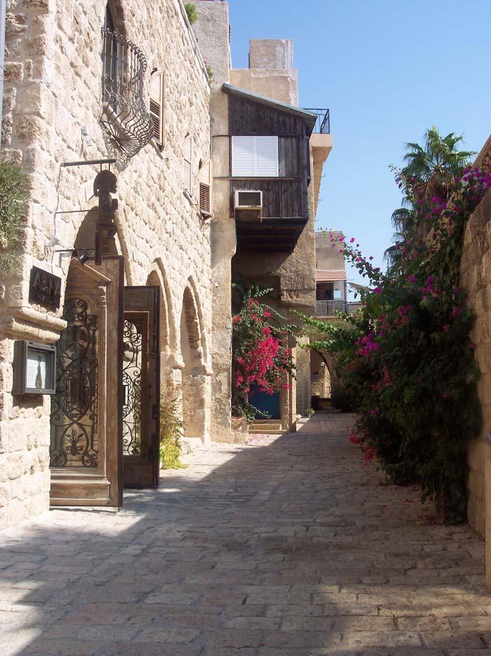 Gasse in Jaffa