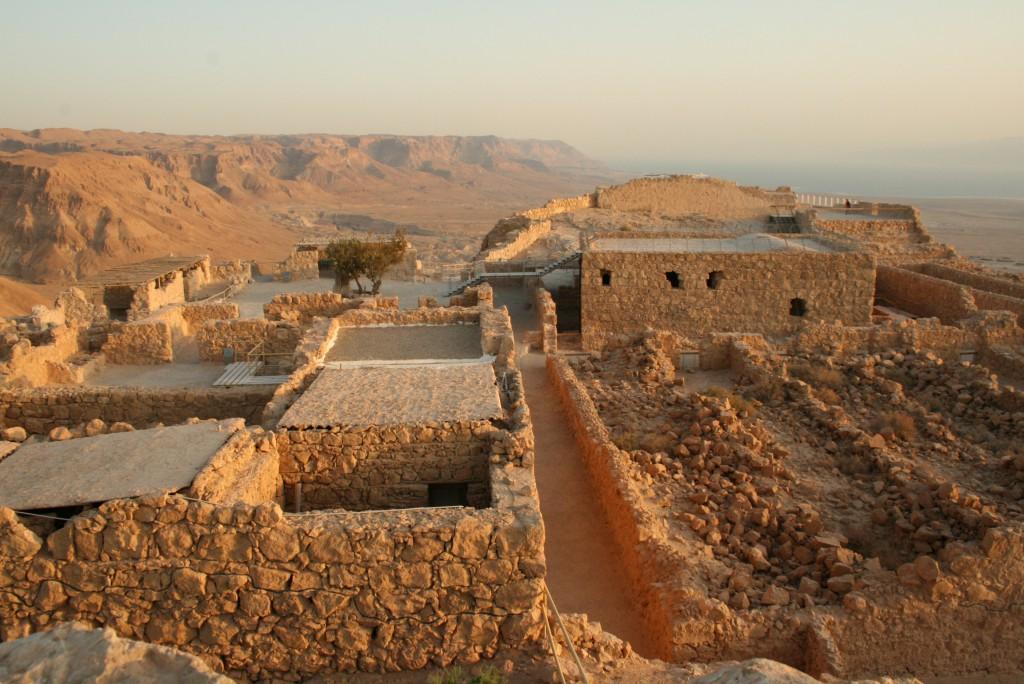 Masada - archäologische Funde
