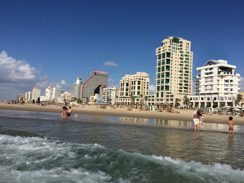 Hotels am Strand von Tel Aviv