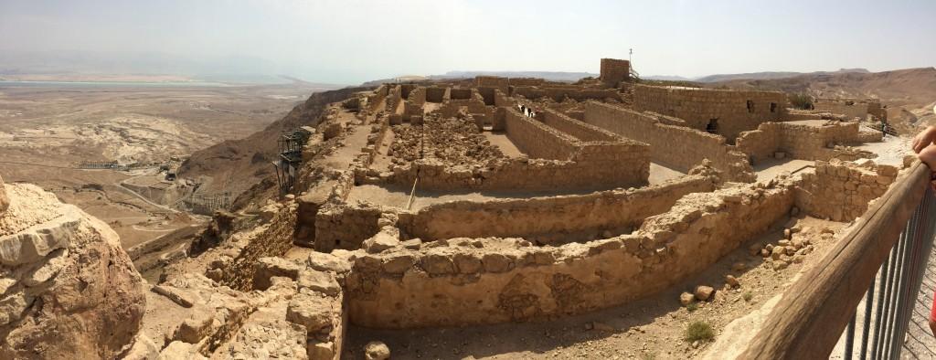 Archäologische Befunde Masada