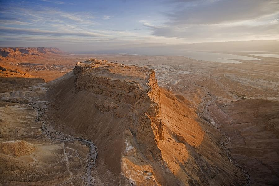 Gipfelplateau Masada