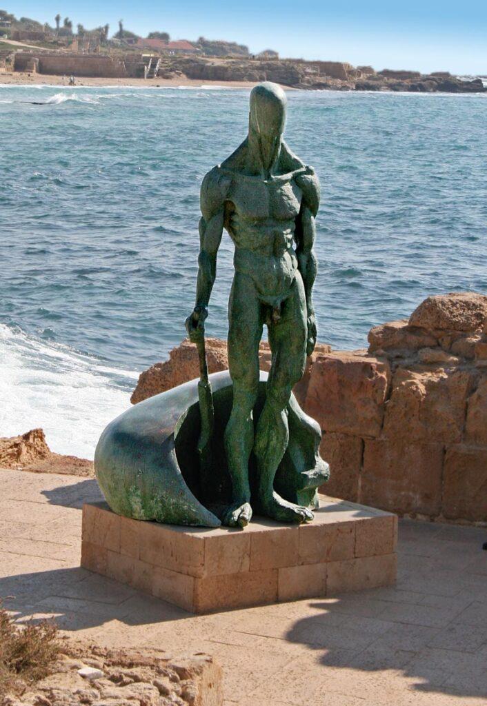 Skulpture eines alten Caesareas
