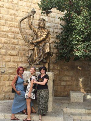 König David Skulptur
